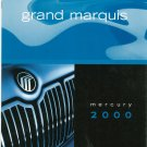 Grand Marquis Mercury 2000 Sales Brochure