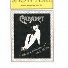 Showtime Stage III Holiday Theater Cabaret Souvenir Program 1982 - 1983 New York Local Advertising
