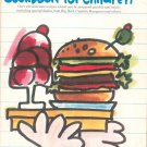 Julie Eisenhower's Cookbook For Children Vintage 1975