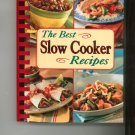The Best Slow Cooker Recipes Cookbook 0412721601