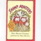 Swamp Monsters by Mary Blount Christian Children's Book 0395617723
