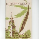 Independence National Historical Park Pa. by Edward M. Riley Vintage 1956