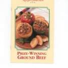 Prize Winning Ground Beef Recipe Collection Cookbook
