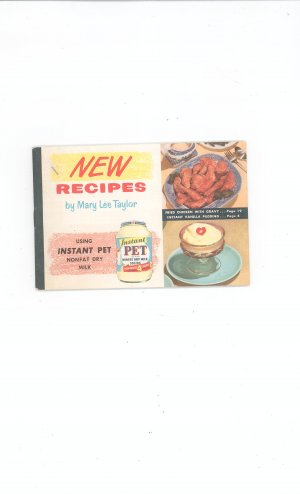 Recipes Mary Lee Taylor Using Instant Pet nonfat dry milk