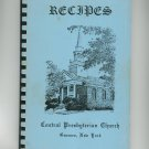 Recipes Cookbook by Central Presbyterian Church Geneseo New York