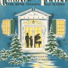 Carols For The Family Singing and Playing Piano Vintage 1951