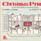 Christmas Primer For Piano or Organ by Wesley Schaum Vintage 1970 Carols