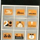 Kodak Slides With A Purpose Marketing Brochure Vintage 1974