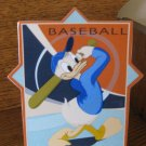 Disney Swing For The Bleachers Baseball Donald Duck Plaque In Box 045544067751 4004862