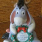 Disney My First Christmas 2002 Eeyore Ornament Pooh & Friends With Box 751584290102 29010