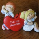 Cabbage Patch Valentine Phone Call Figurine 5451 With Box 1985