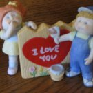 Cabbage Patch I Love You Figurine 5452 With Box 1985