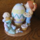 Cabbage Patch Kids Easter Artists  5478  Figurine With Box 1985