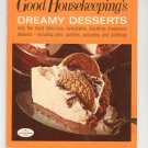 Good Housekeeping&#39;s Dreamy Desserts 5 Cookbook 1967 Vintage