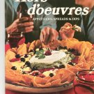 Hors d'oeuvres Appetizers Spreads & Dips Cookbook by Sunset 0376024437