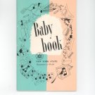 Vintage Baby Book By New York State Department Of Health 1957