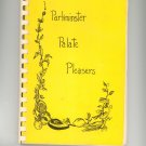 Parkminster Palate Pleasers Cookbook Regional New York Church Vintage 1979