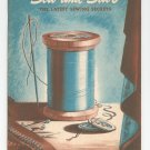 Vintage Easy Ways To Sew And Save Book No. 169 1941 Spool Cotton Company