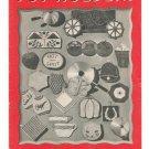 Vintage Pot Holders Book No. 196 Clark's J & P Coats 1943