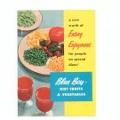 Vintage A New World Of Eating Enjoyment For People On Special Diets Blue Boy