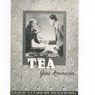 Tea Goes American Recipe / Cookbook By Tetley Vintage 1939