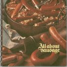 All About Sausage Cookbook Plus Vintage 1973 Oscar Mayer