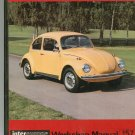 VW Beetle Workshop Manual 157 Intereurope Volkswagen From 1968 1200 Plus 901610356