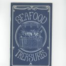 Vintage Seafood Treasures Cookbook Irena Kirshman 1970