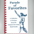 Parade Of Favorites Cookbook Regional Fairport Fire Dept. Band Family