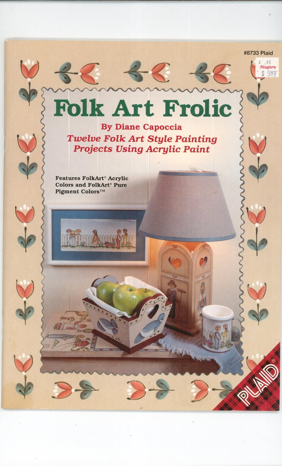 Folk Art Frolic by Diane Capoccia Number 8733  1993