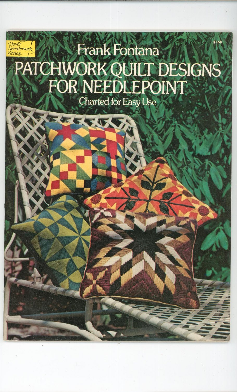 Patchwork Quilt Designs For Needlepoint Charted For Easy Use Frank Fontana 0486233006