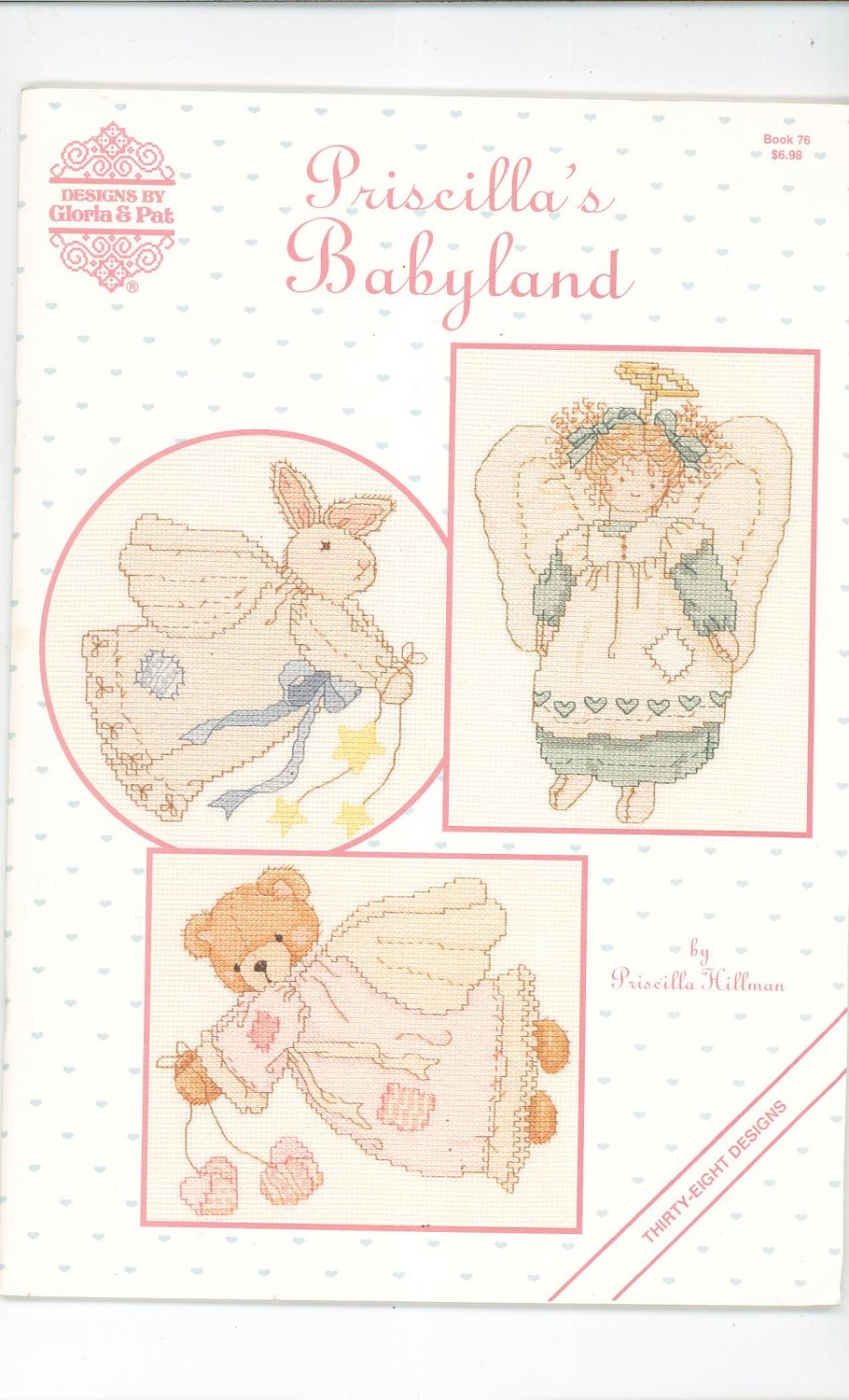 Priscilla's Babyland Book 76 Cross Stitch Hillman 1991