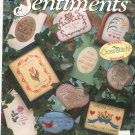 Mini Sentiments Needlecraft Shop 916303 Cross Stitch Judy Chrispens 1991