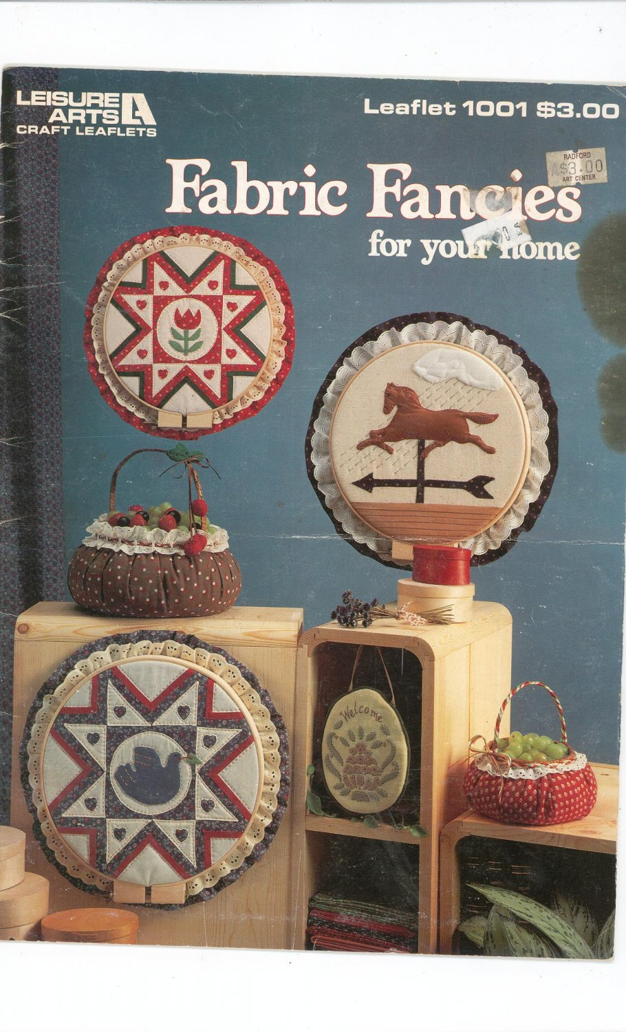 Fabric Fancies For Your Home by Leisure Arts 1001  1983