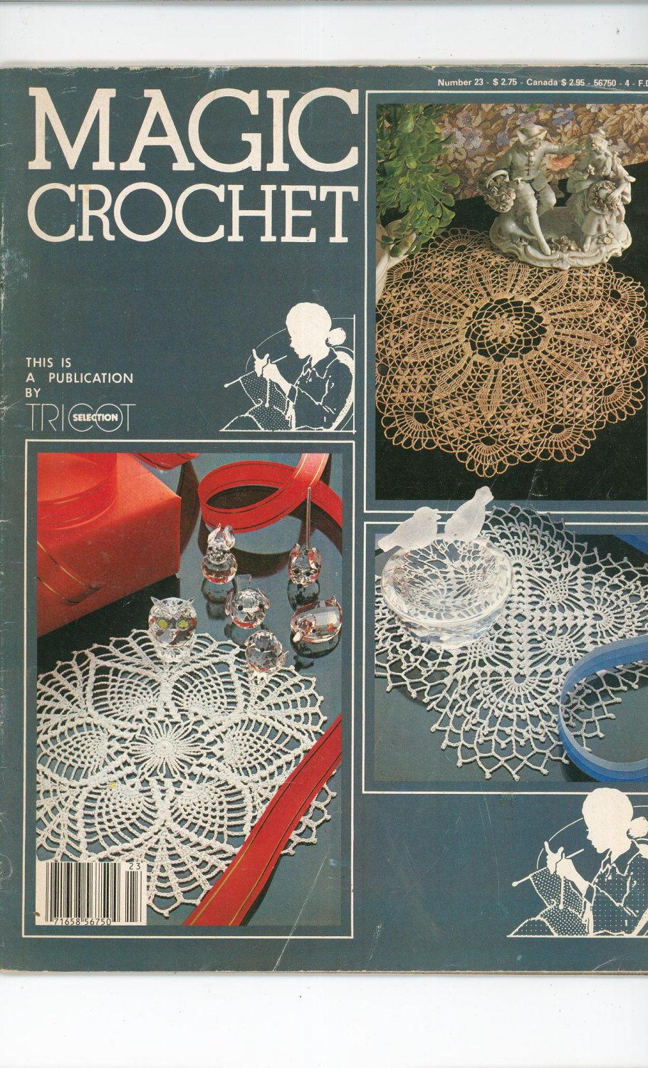 Magic Crochet Number 23  1983 Tricot Selection