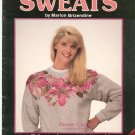 Silk Flower Sweats by Marion Brizendine Sweatshirt Decorating