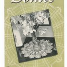 Vintage Doilies Book Number 163 Spool Cotton Company 1941 Crochet