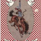 Best Of The West Book 41 by Stoney Creek Collection 1987 Cross Stitch