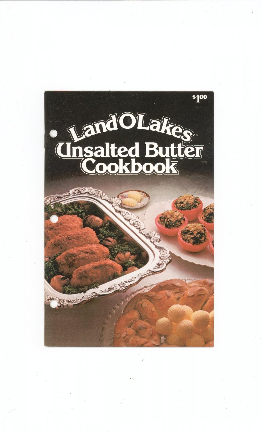 Landolakes Unsalted Butter Cookbook 1981 Land O' Lakes
