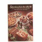 Vintage Selections From The Nifty 50 Pillsbury Cookbook / Brochure