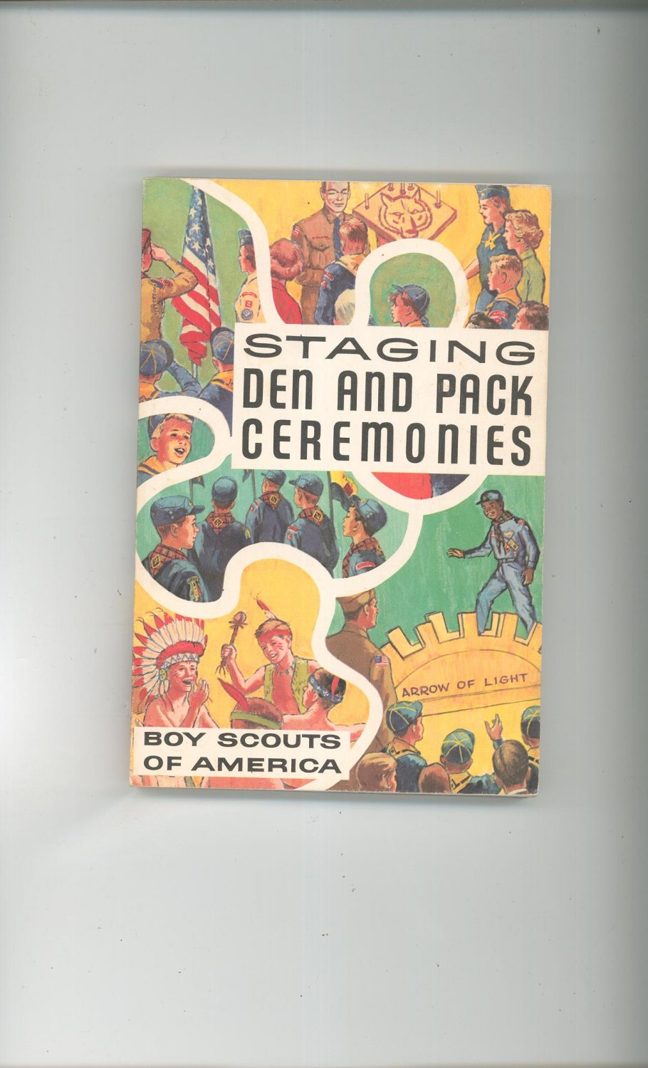 Staging Den And Pack Ceremonies 0839532148 1973 Printing Boy Scouts Of America BSA