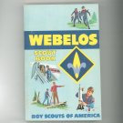 Webelos Scout Book 0839532326 1985 Printing Boy Scouts Of America BSA