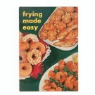 Frying Made Easy Cookbook / Pamphlet by Spry