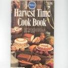 Pillsbury Harvest Time Cook Book Cookbook Classic No. 4  1980