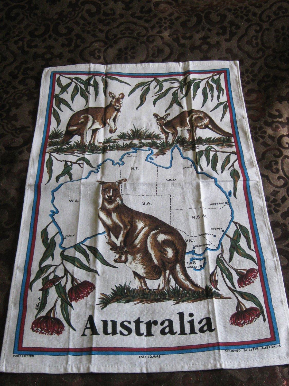 Souvenir Towel Australia Pure Cotton Designed By Citer Australia Fast Colours Very Nice