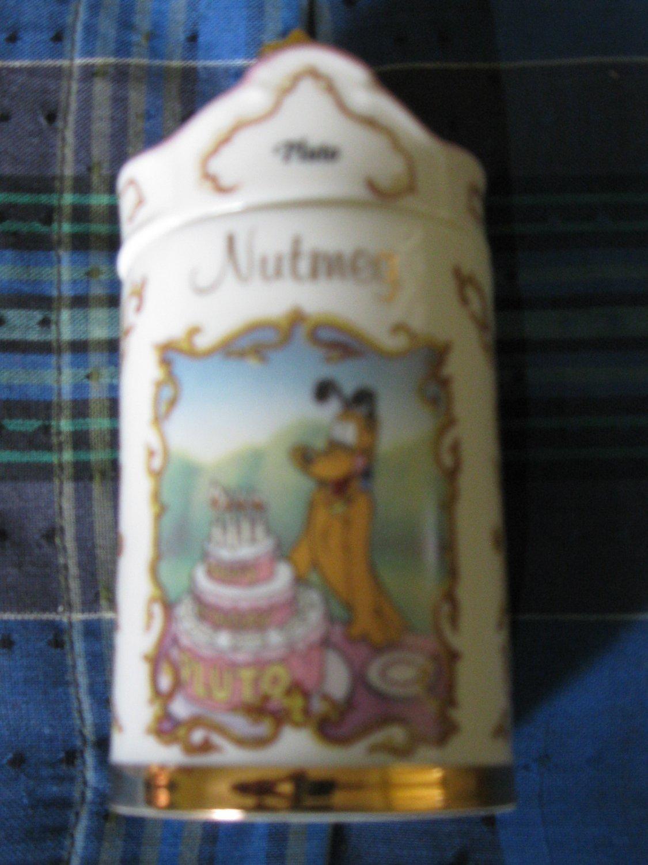 Awesome Disney Pluto Nutmeg Spice Jar Lenox 1995 Collection