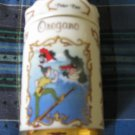 Awesome Disney Peter Pan Oregano Spice Jar Lenox 1995 Collection