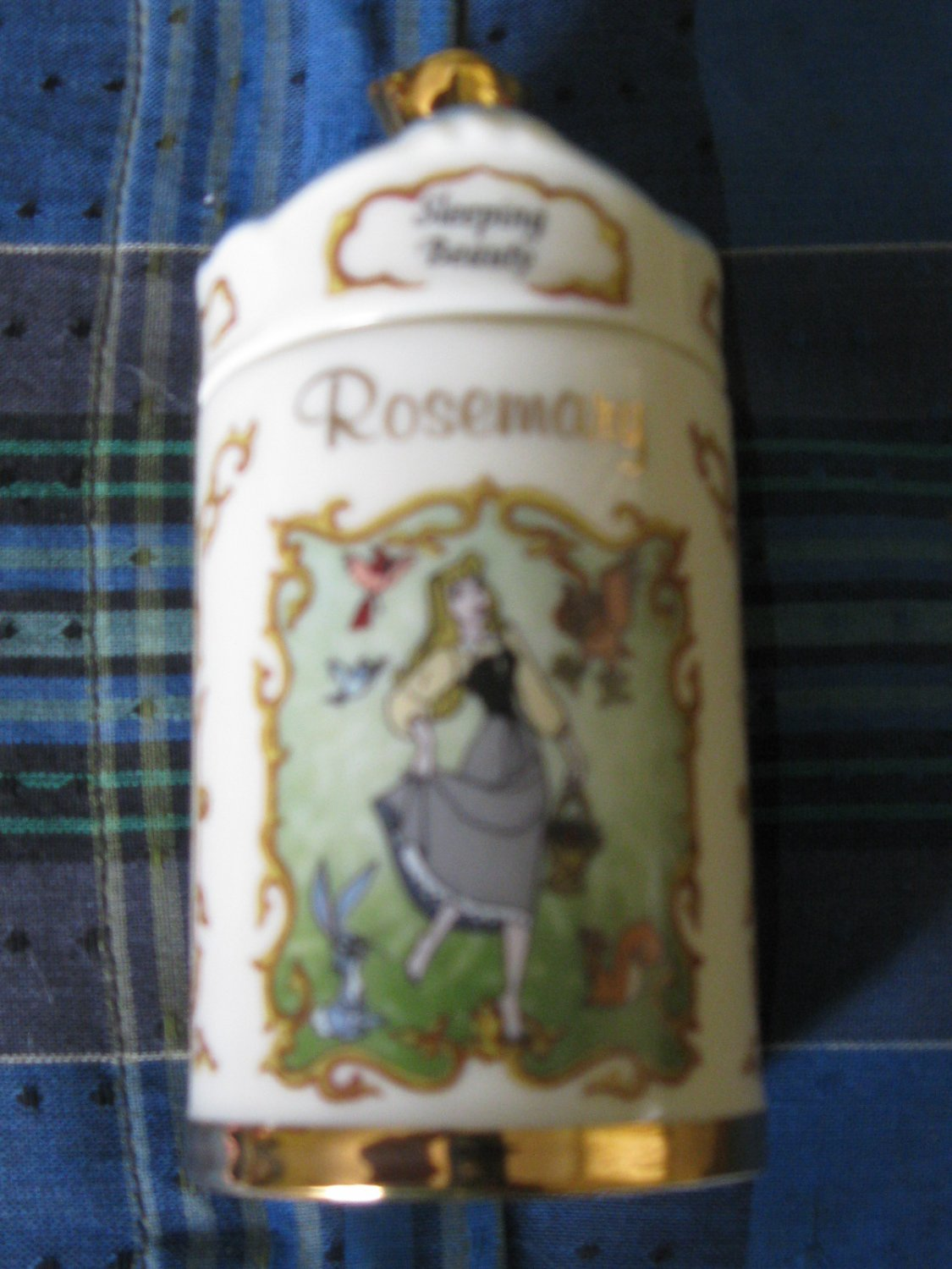 Awesome Disney Sleeping Beauty Rosemary Spice Jar Lenox 1995 Collection