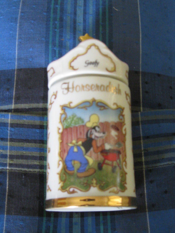 Awesome Disney Goofy Horseradish Spice Jar Lenox 1995 Collection