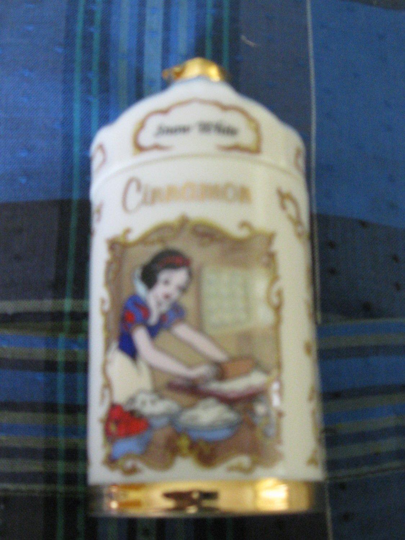 Awesome Disney Snow White Cinnamon Spice Jar Lenox 1995 Collection
